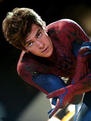 Andrew Garfield och Spiderman filmerna